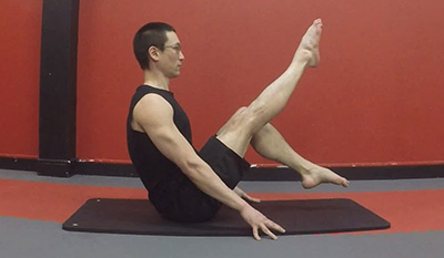 Navasana version 2