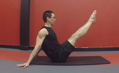 Navasana version 5