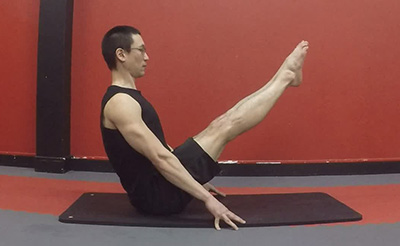 Navasana version 6