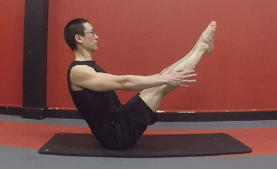 Navasana version 7